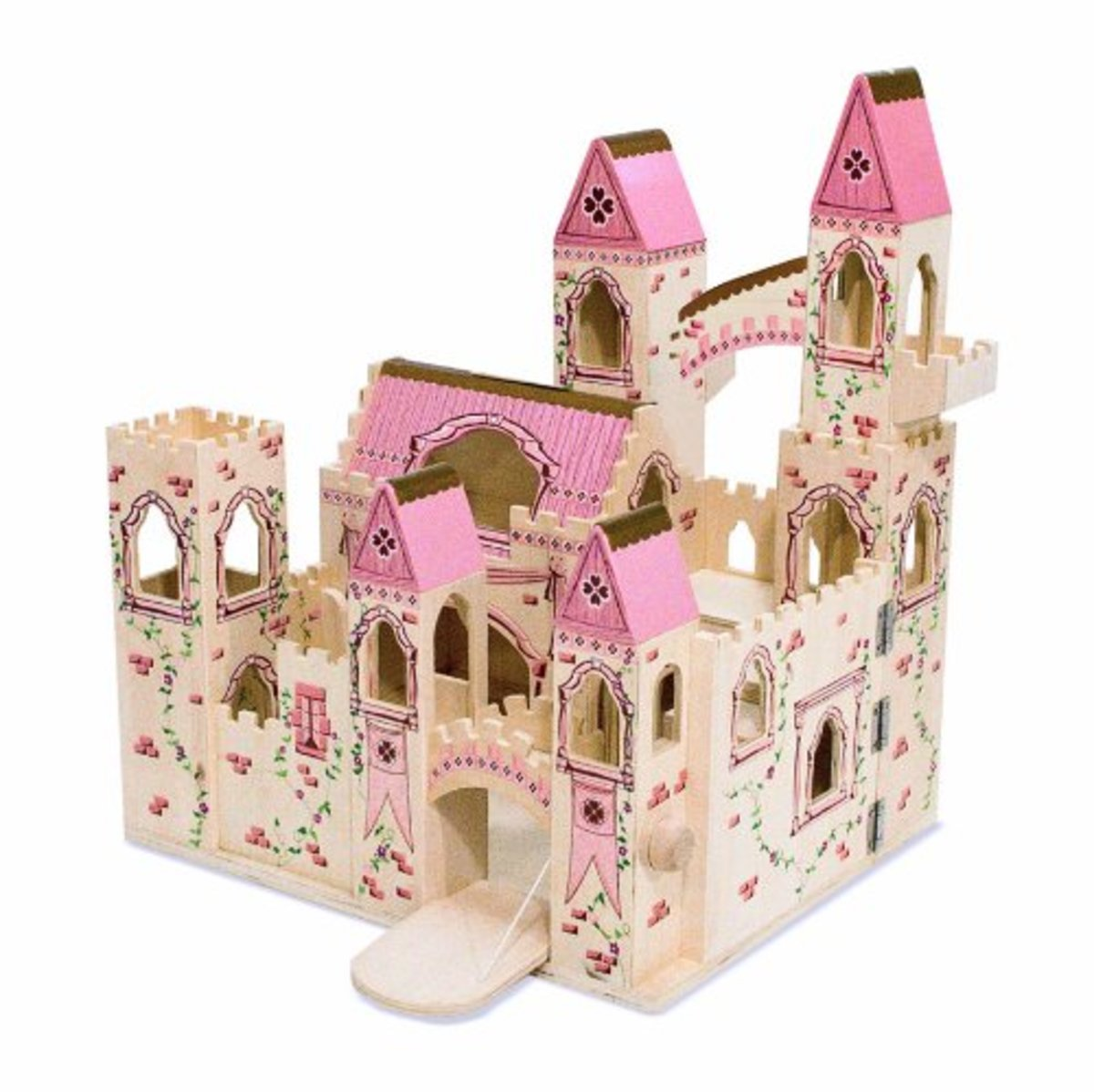 Toy Castles For Boys : Toy castles forts for children kids wooden