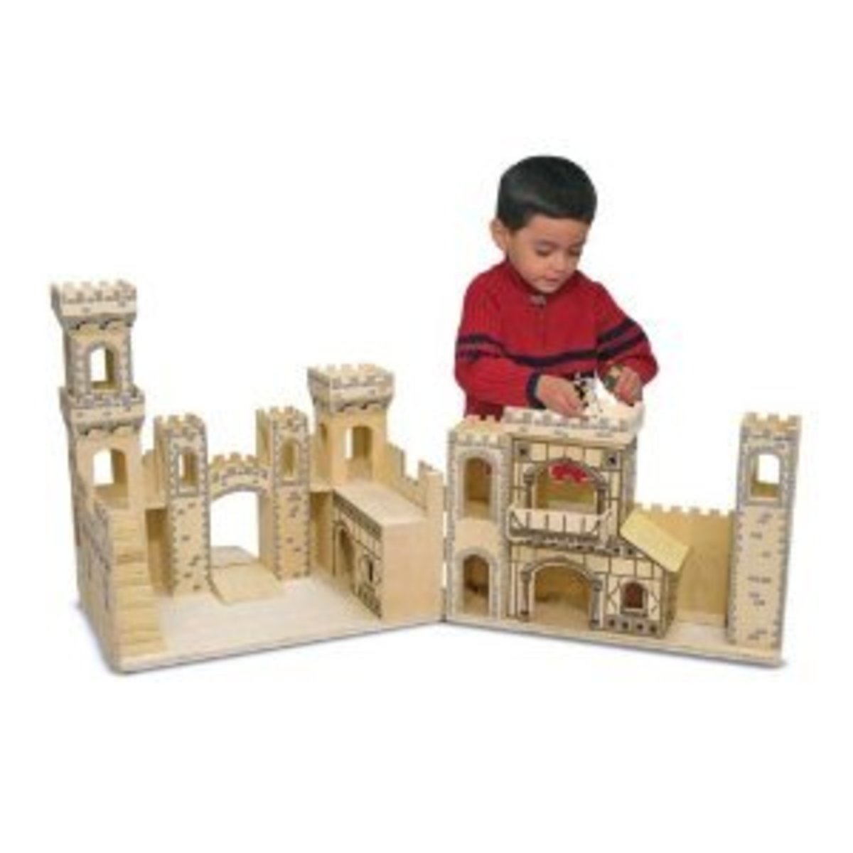 Toy Castles For Toddler Boys : Toy castles forts for children kids wooden