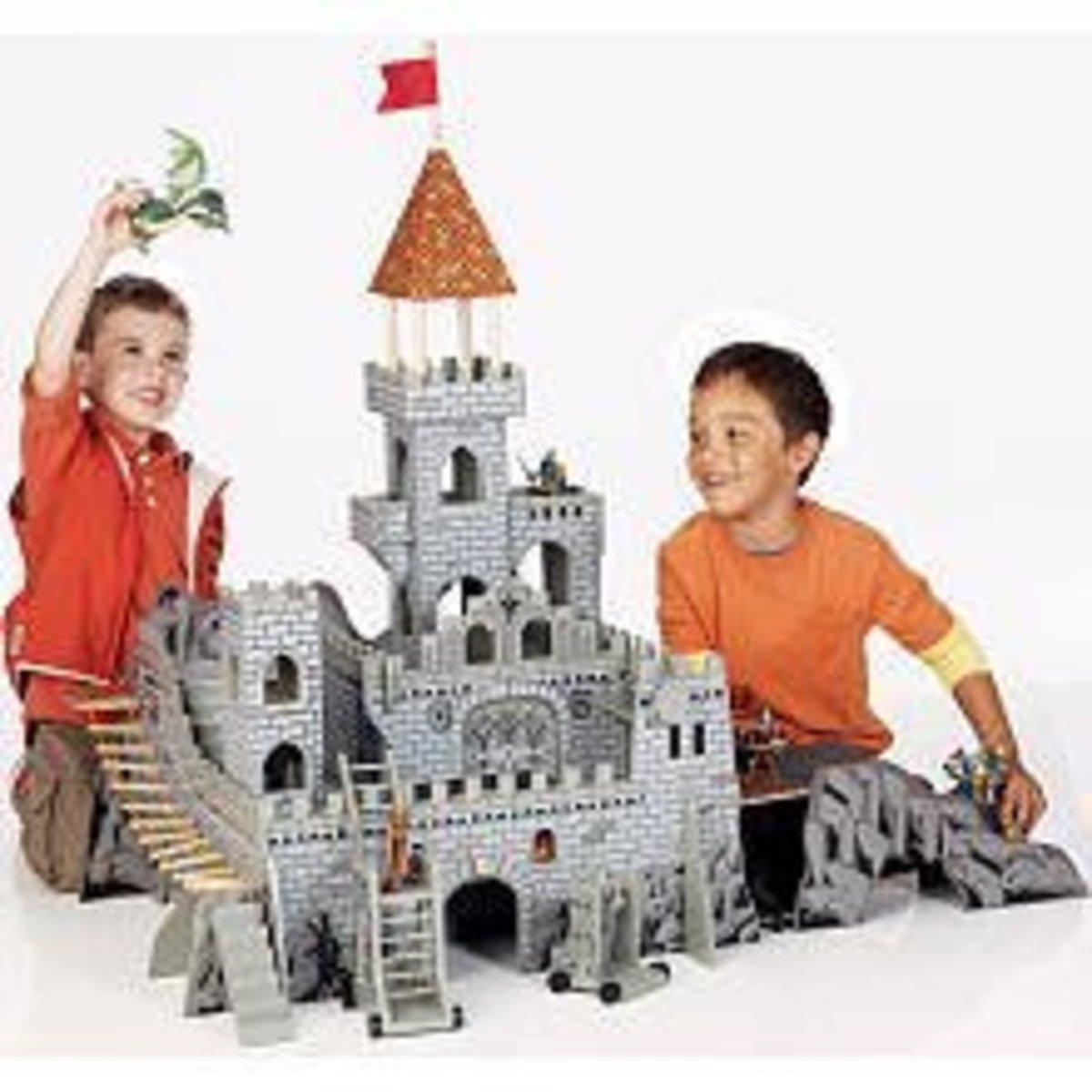 elc wooden castle assembly instructions