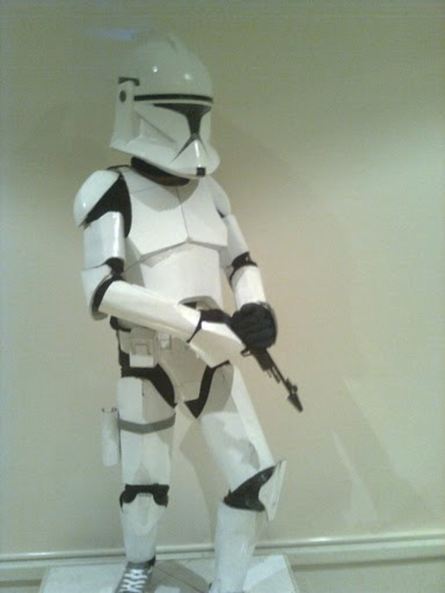 How to Make an Awesome Star Wars Clone-Trooper Costume From Home
