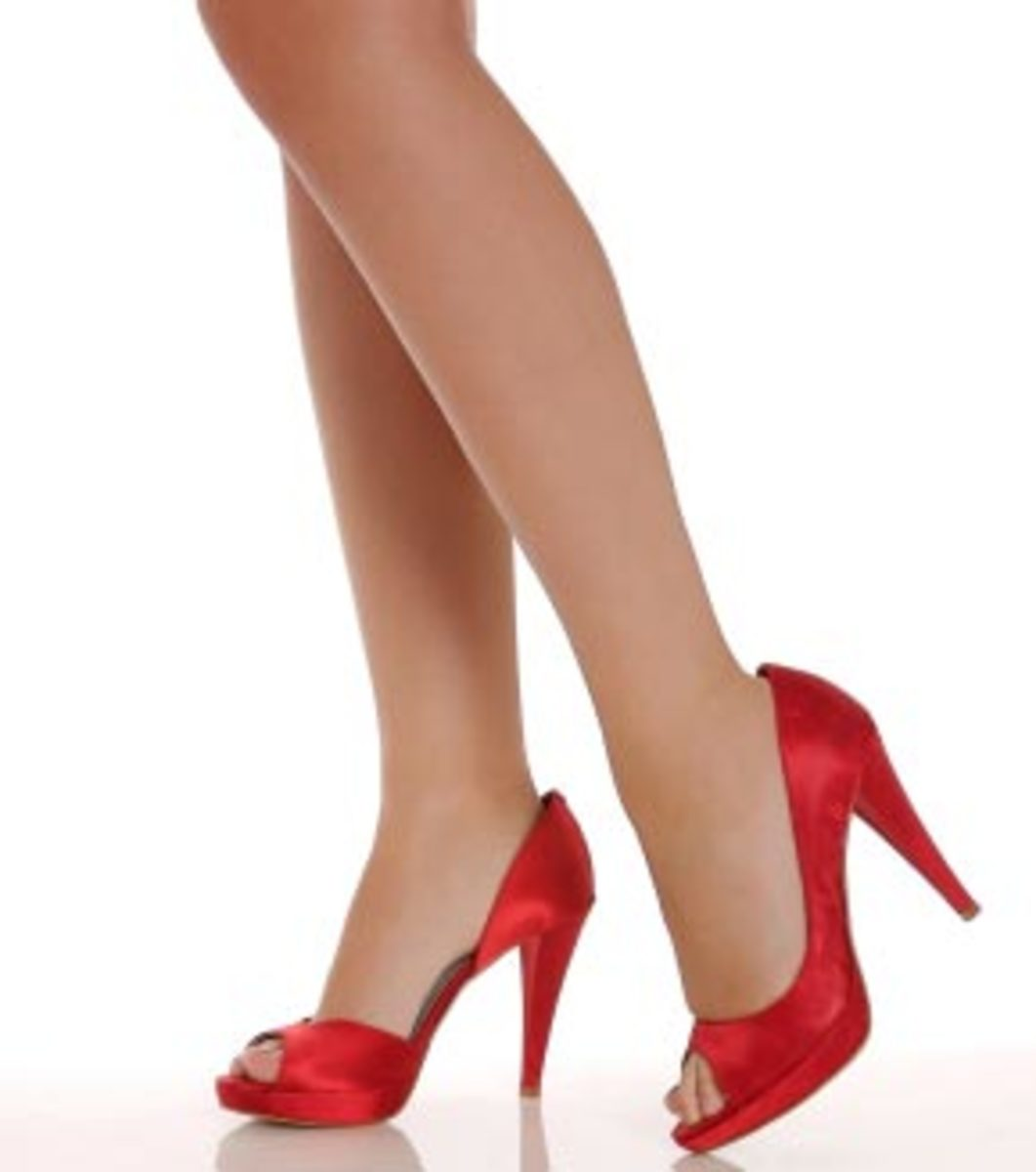 High heels make you stylish, fashionable, sexy, hot - you name it!