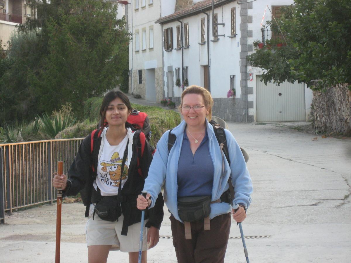 Shan Kirin from Delhi and Nancy from San Francisco