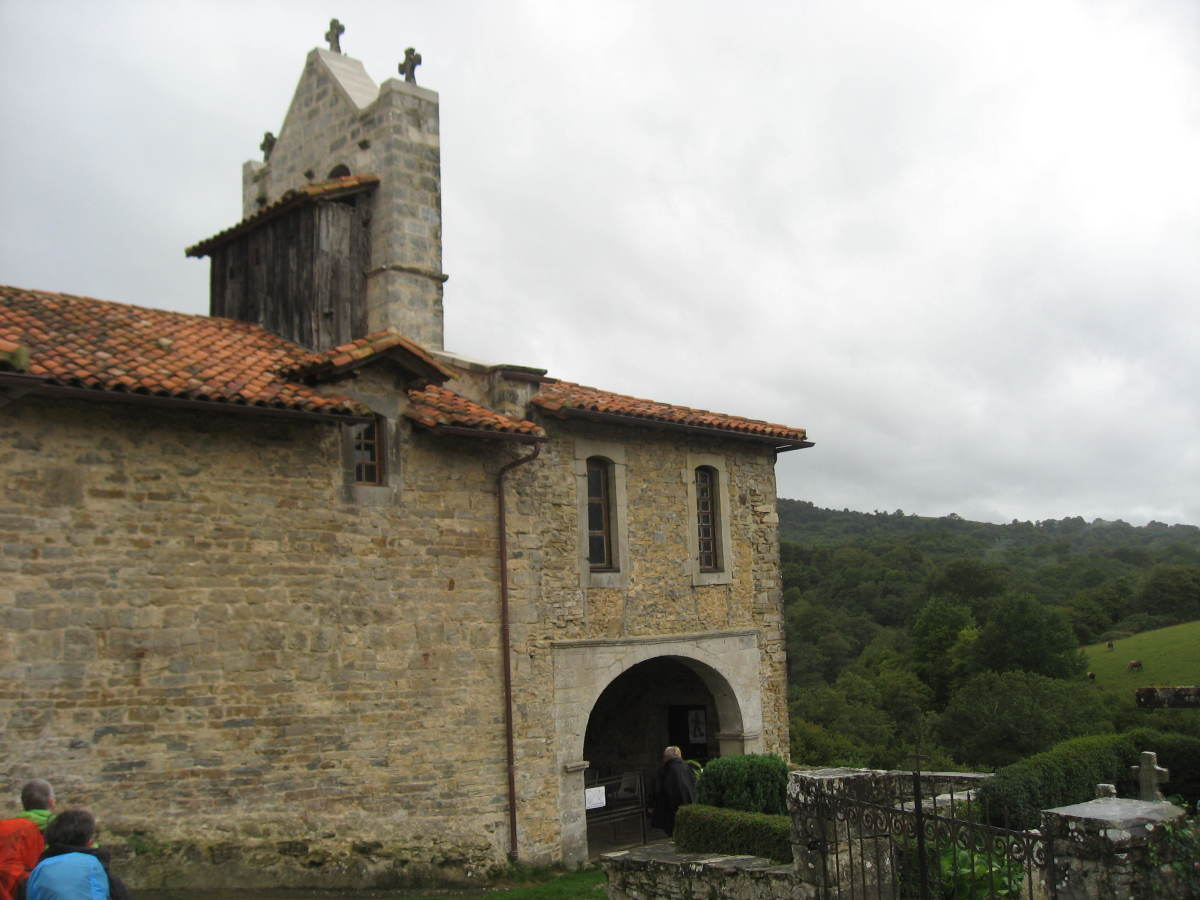 old church along the way