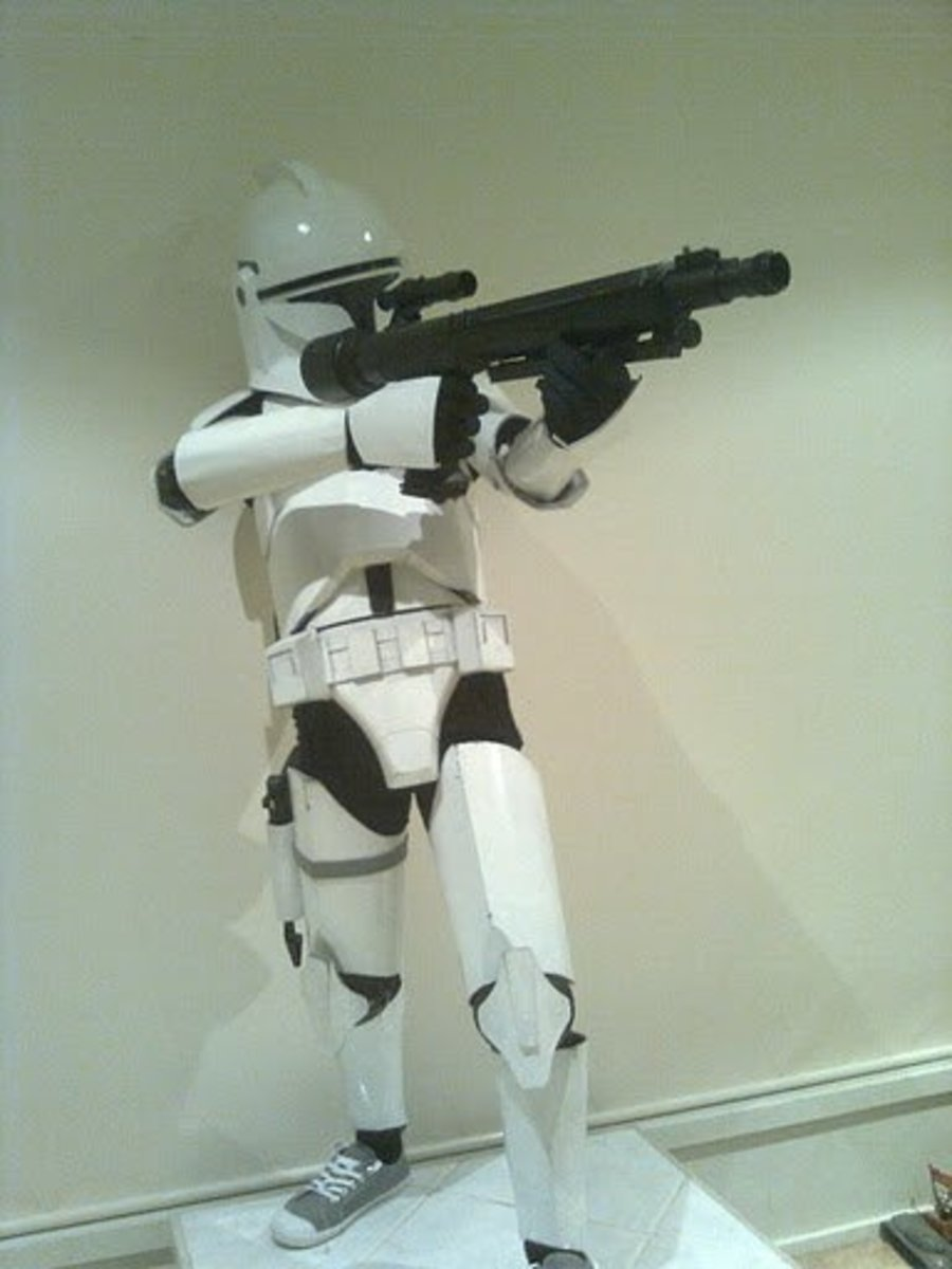 how to make a clone trooper costume