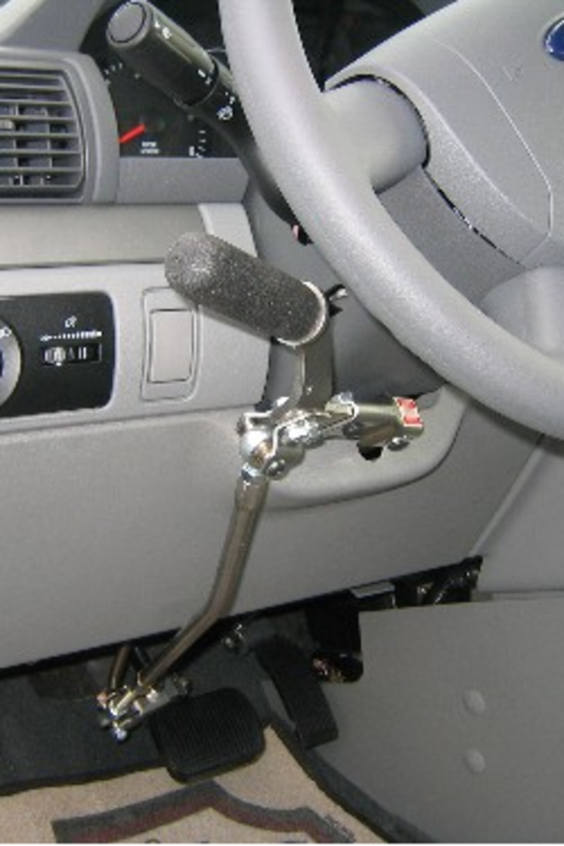 Hand Controls for Disabled Drivers