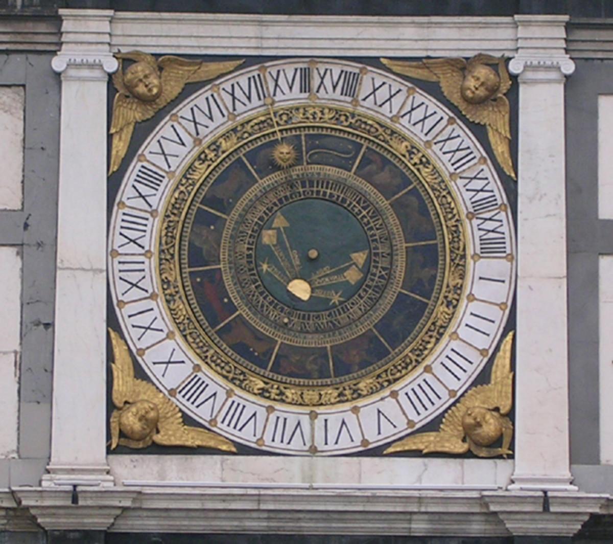 Neat Old Clock - Public Domain