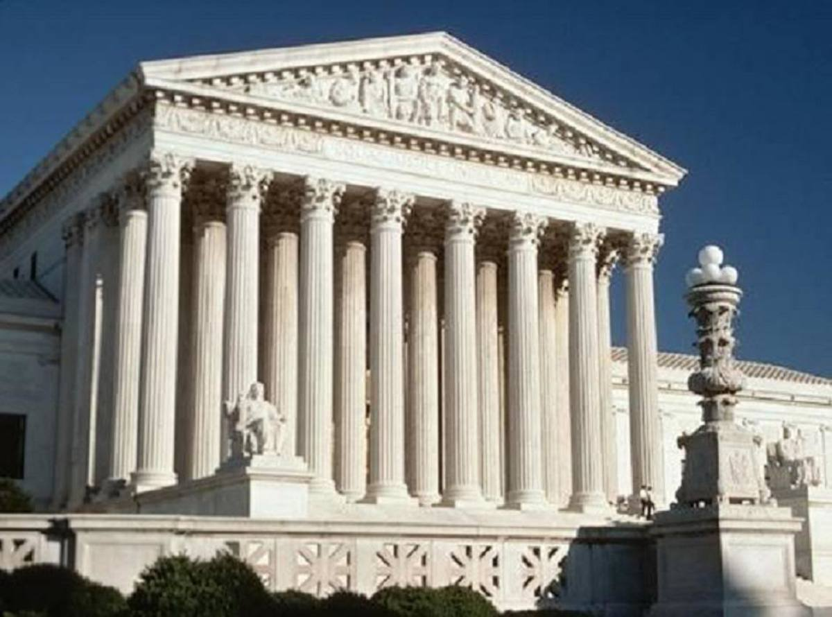 Supreme Court Building in Washington D.C.