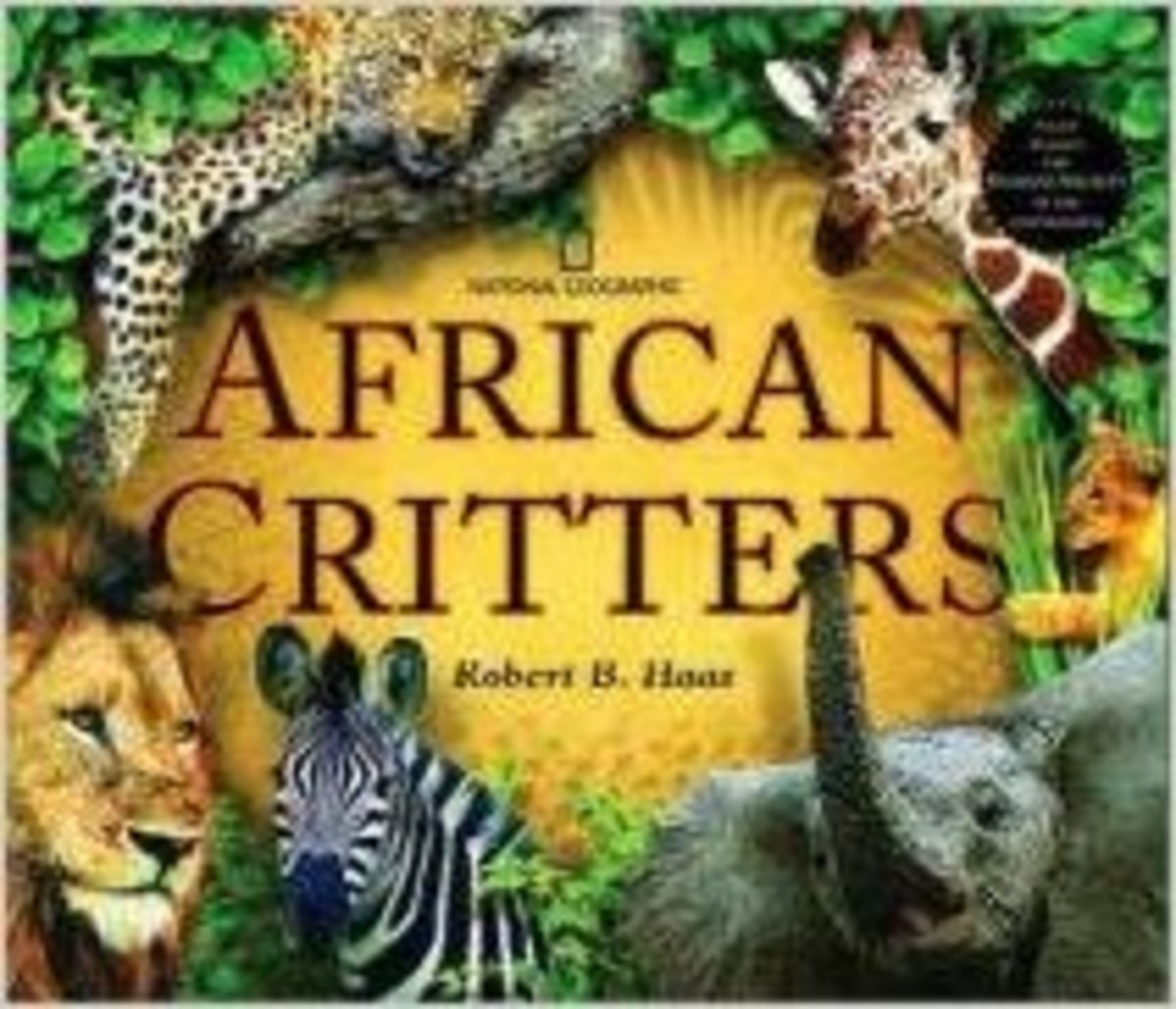 African Critters by Robert Haas - Image credit: amazon.com