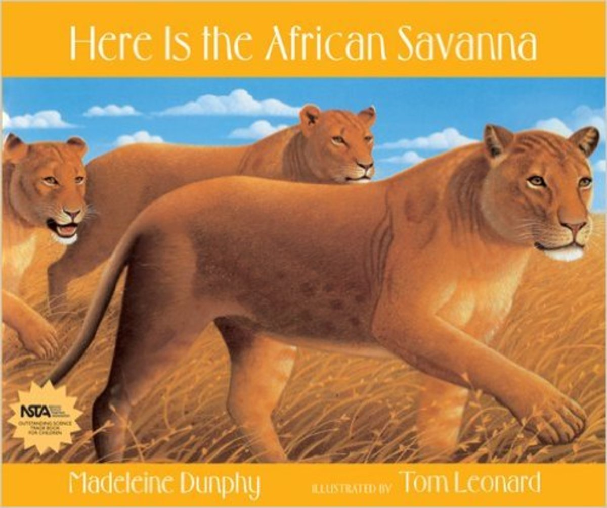 Here Is the African Savanna by Madeleine Dunphy  - Image credit: amazon.com