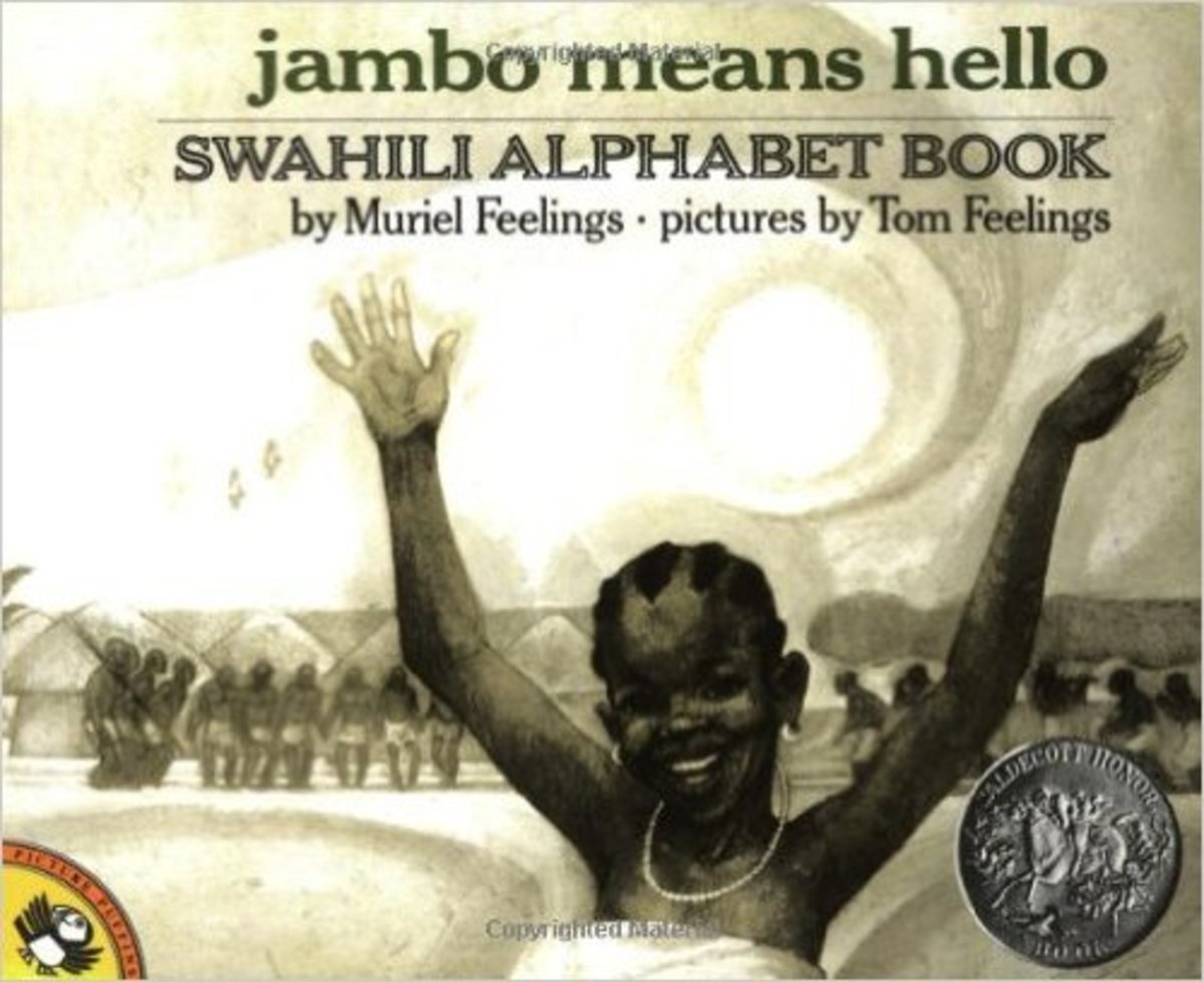 Jambo Means Hello: Swahili Alphabet Book by Muriel Feelings