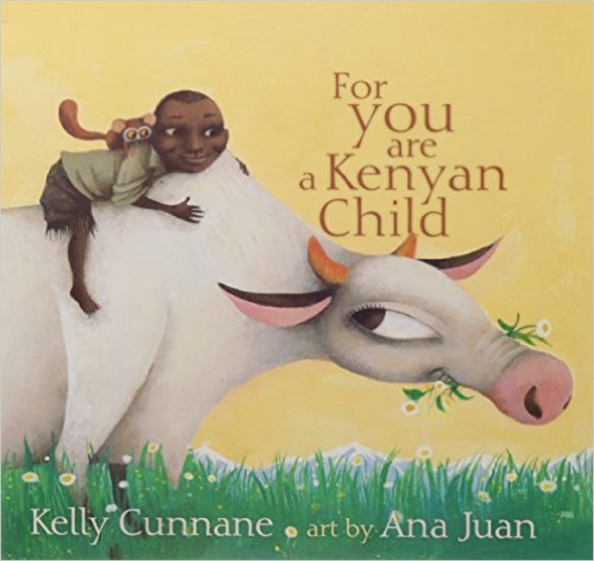 For You Are a Kenyan Child by Kelly Cunnane  - Image credit: amazon.com