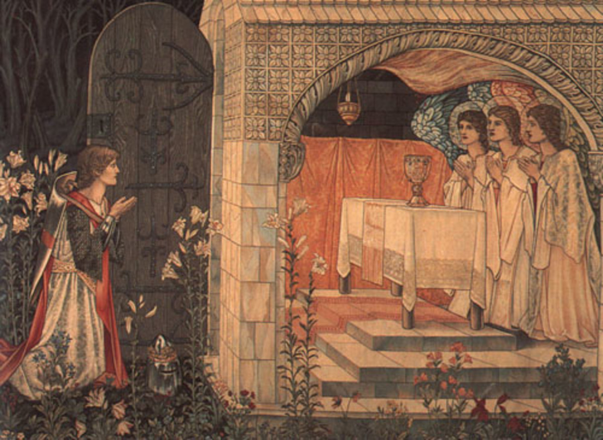 William Morris - Vision of the Holy Grail