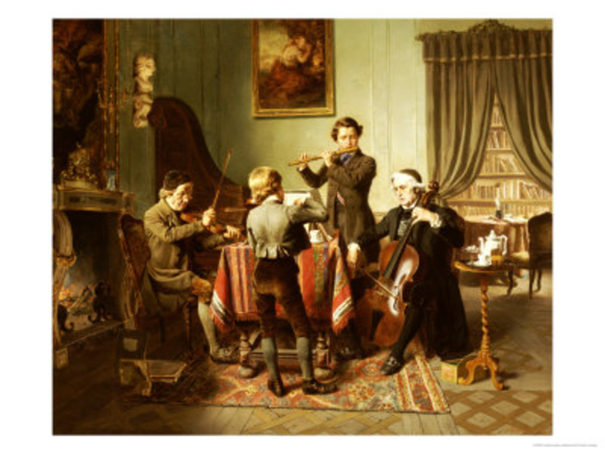 The Quartet, by Friedrich-Peter Hiddemann