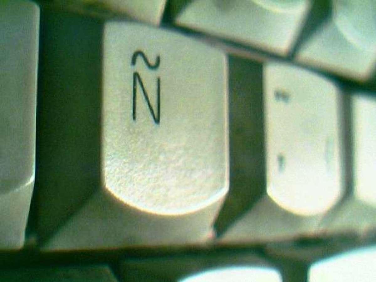 ñ on keyboard