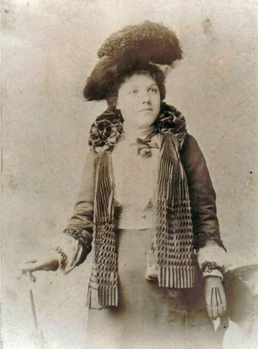 Maud Elizabeth Baglin 1885 nee Baldwin