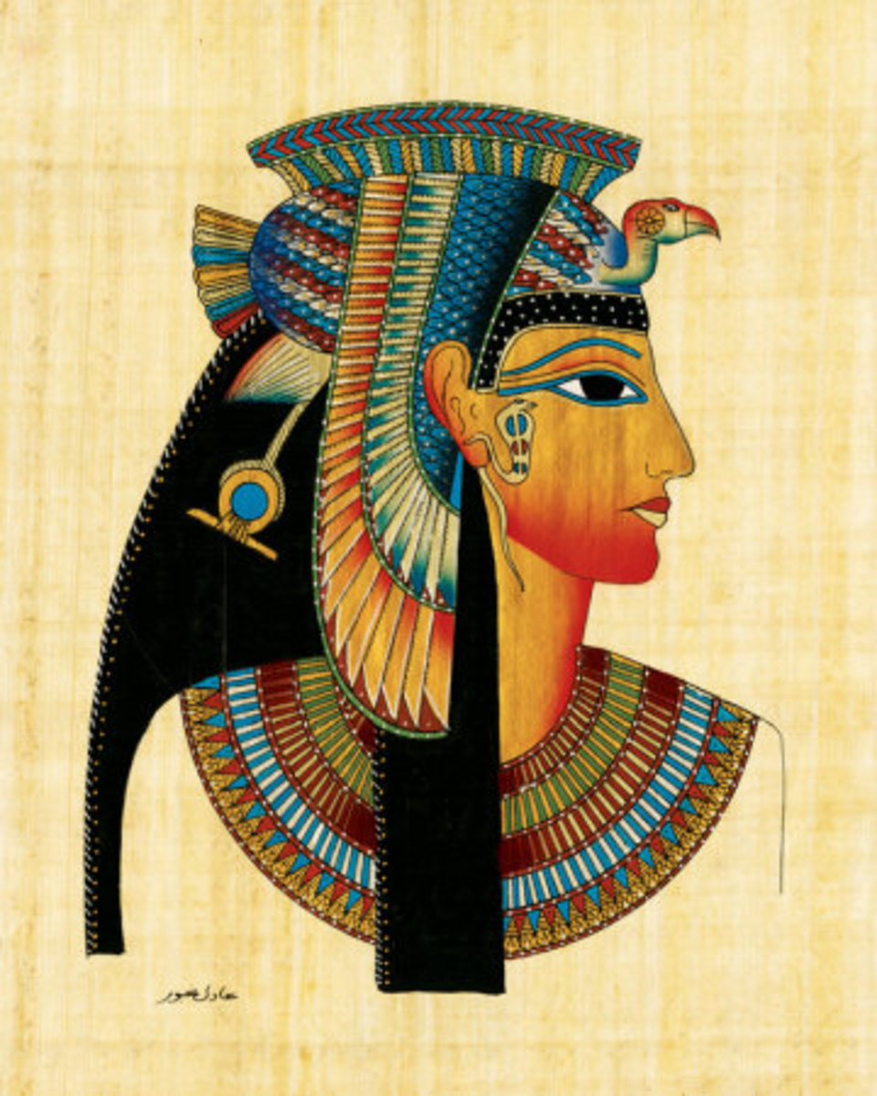 Egyptian Queen Cleopatra relied on essential oils for cosmetics, healing and seduction.
