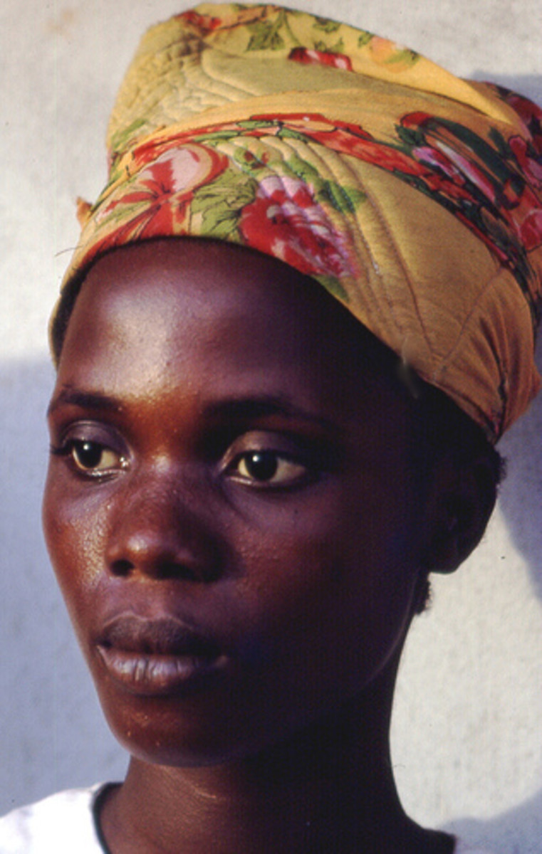 Young Liberian woman, 1968