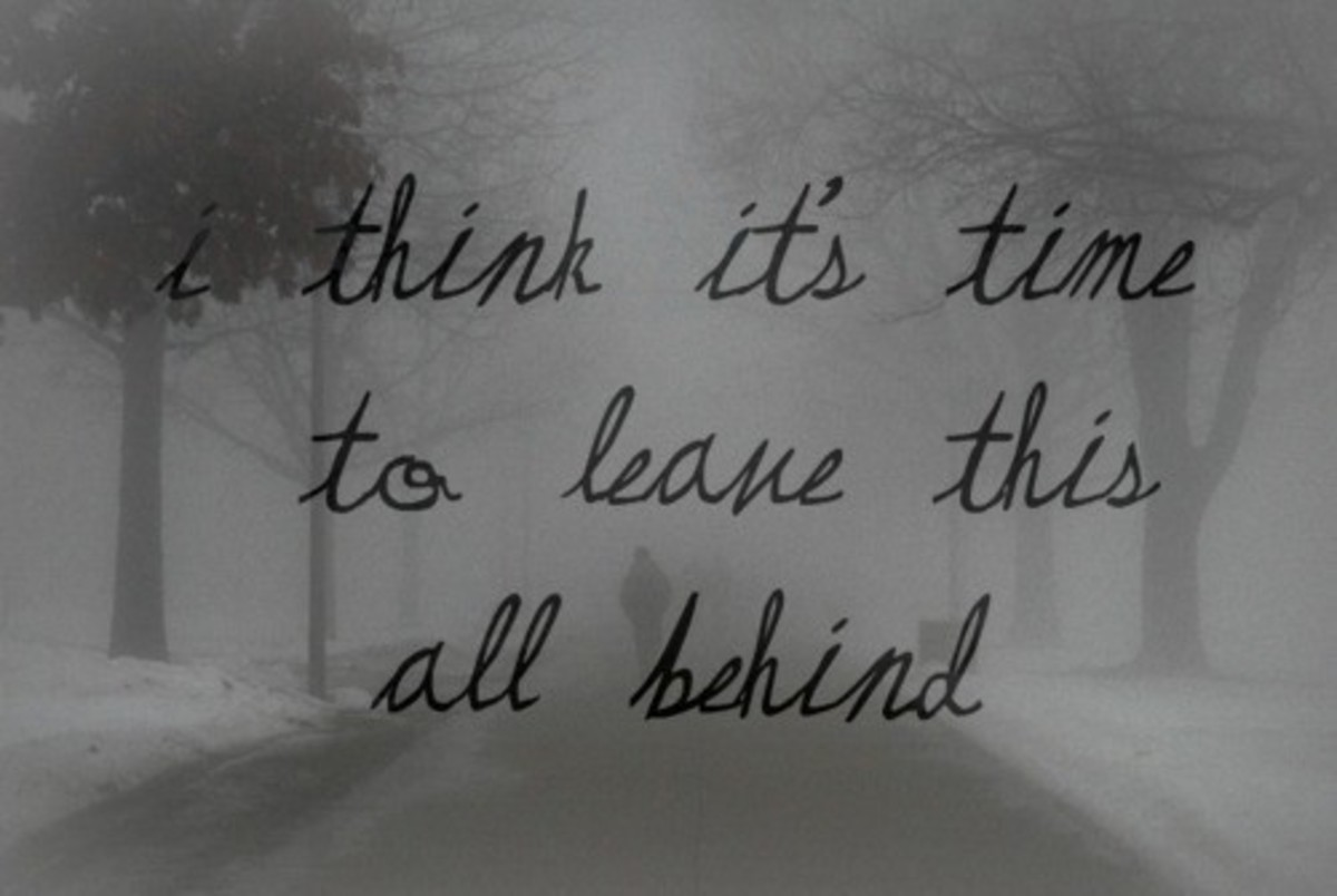 Leaving behind