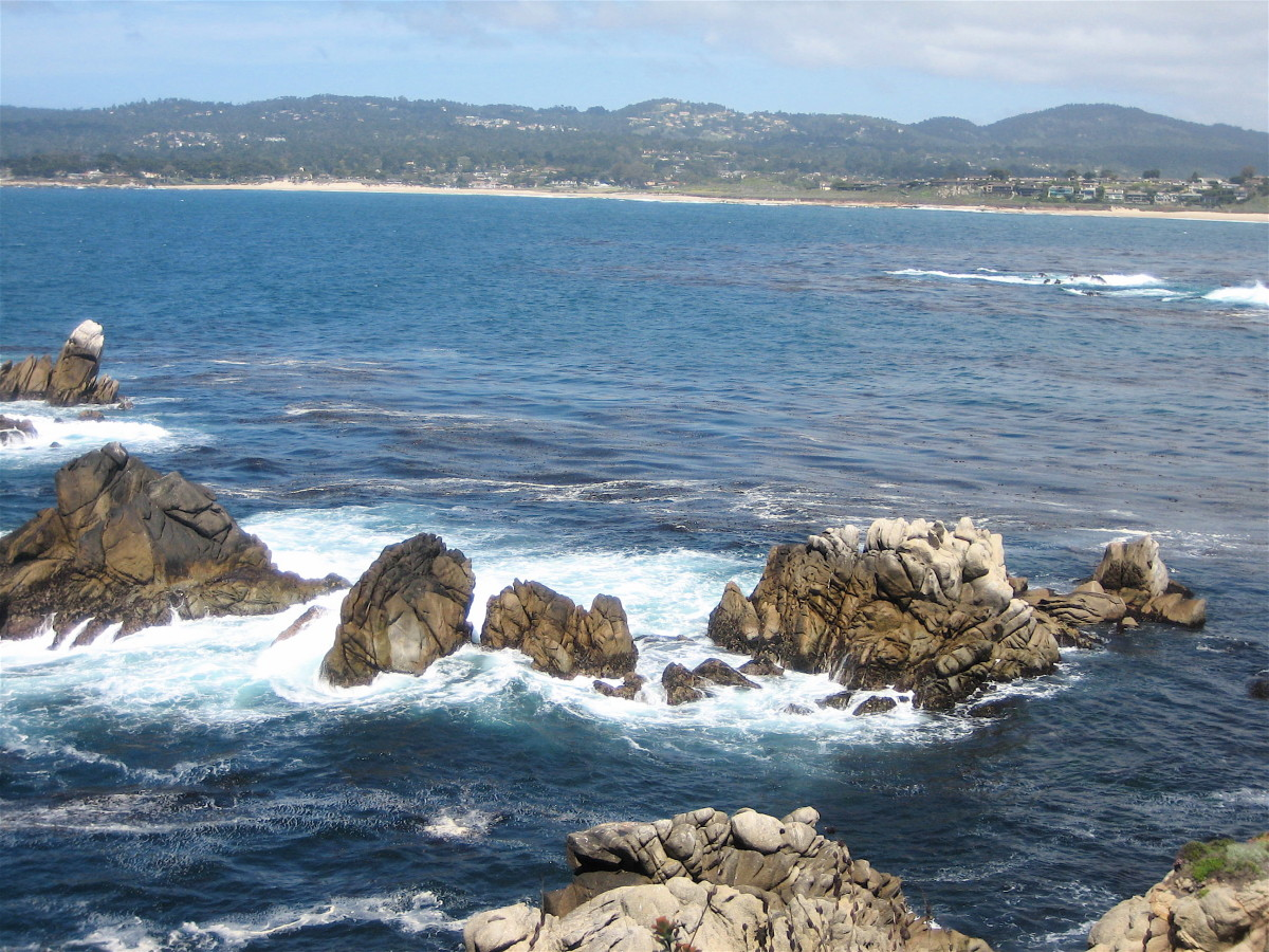 View Toward Carmel By The Sea