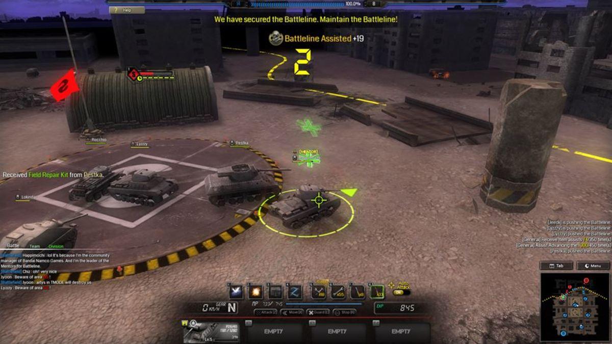 Battleline Gameplay