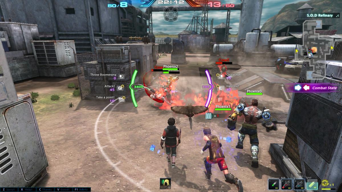 Cronix Online Gameplay