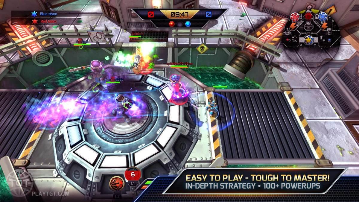 Trans Galactic Tournament Gameplay