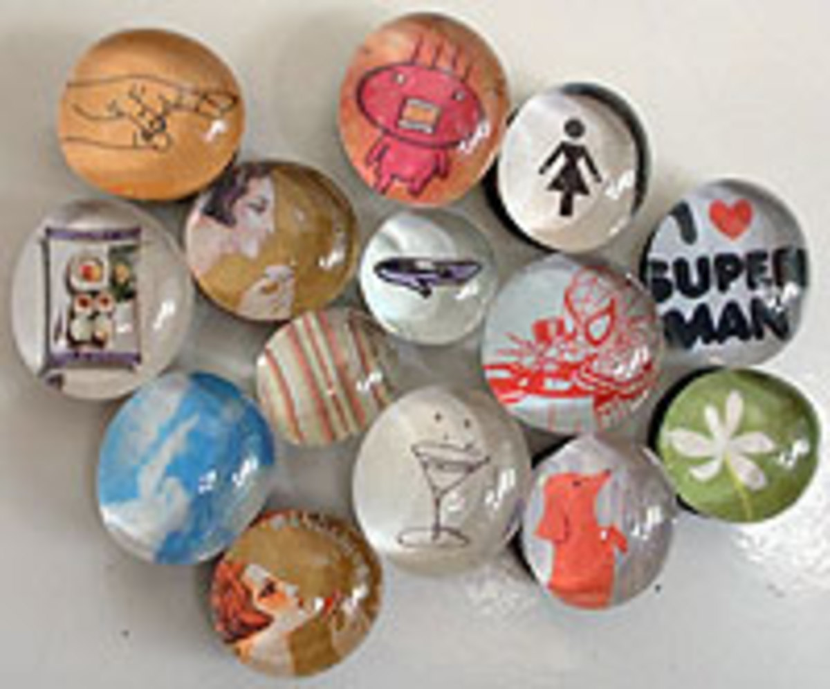 Marble Magnets - the perfect gift for just about anyone!