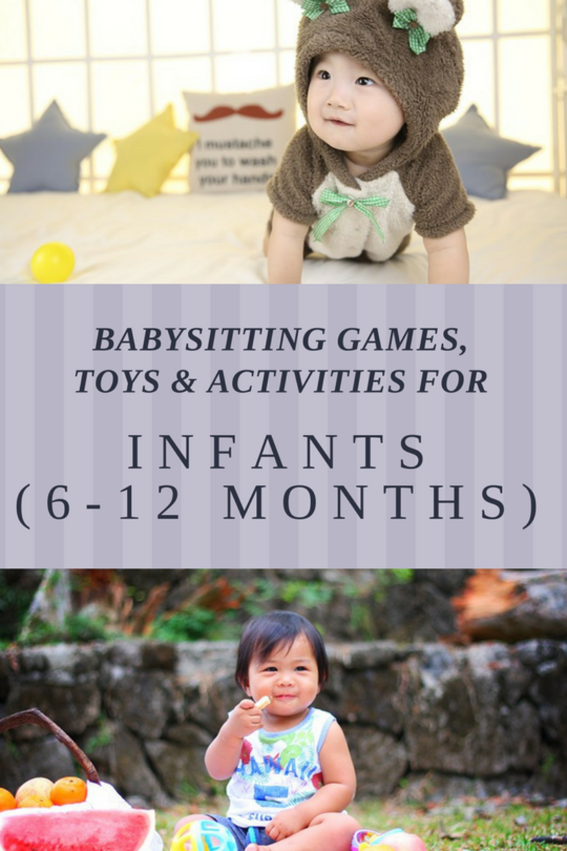 Babysitting Games, Toys and Activities for Infants (6-12 Months)
