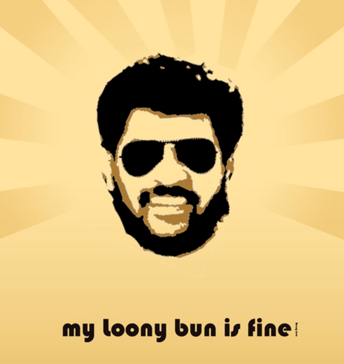"""Benny Lava"" has become so popular that you can buy tshirts and posters. Sweet!"