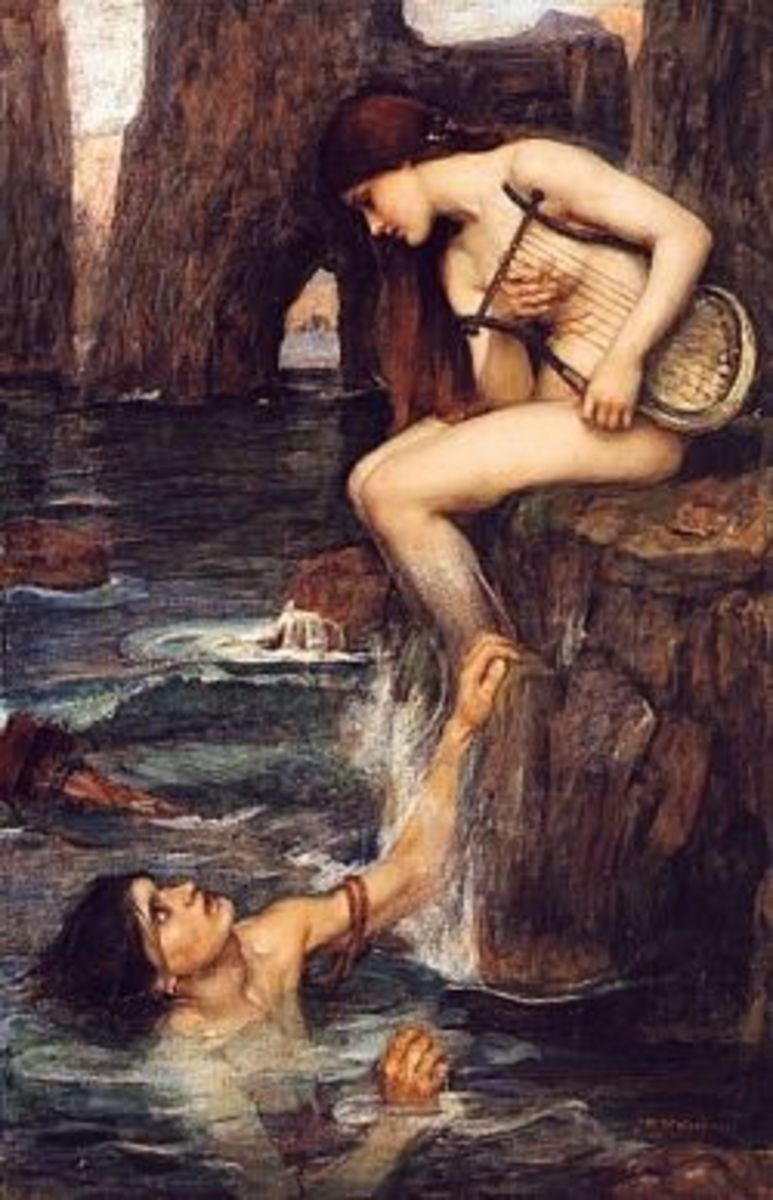 The_Siren-John-William -Waterhouse