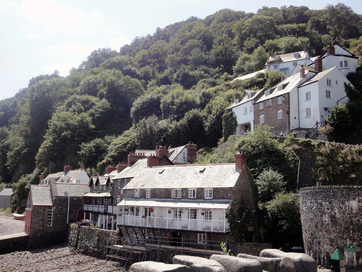 Clovelly, a Victorian village in Devon, England