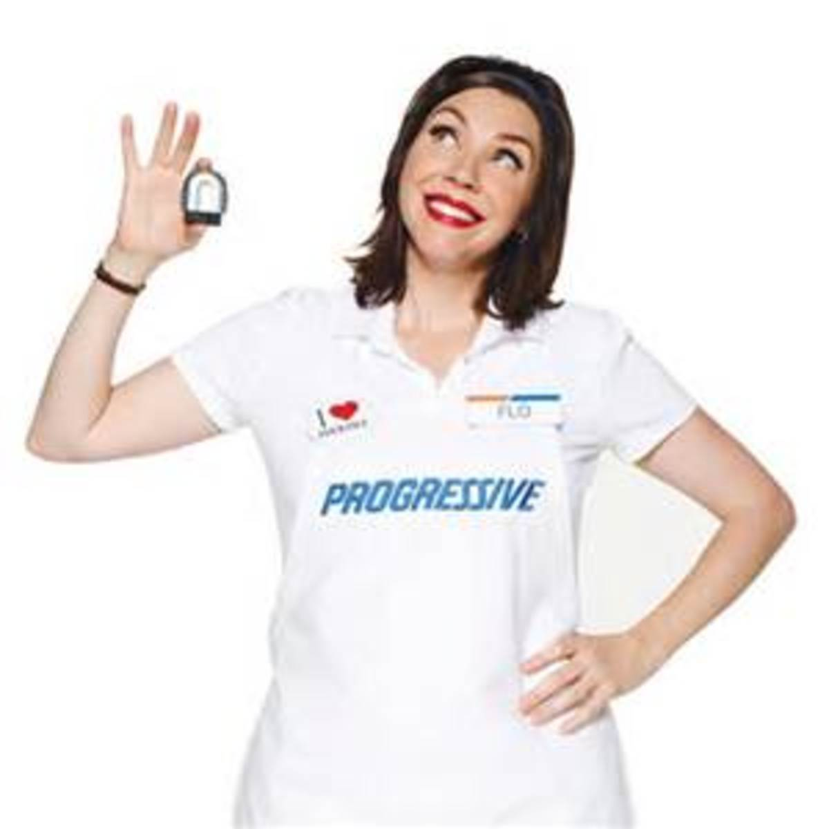 DIY Progressive Flo Halloween Costume