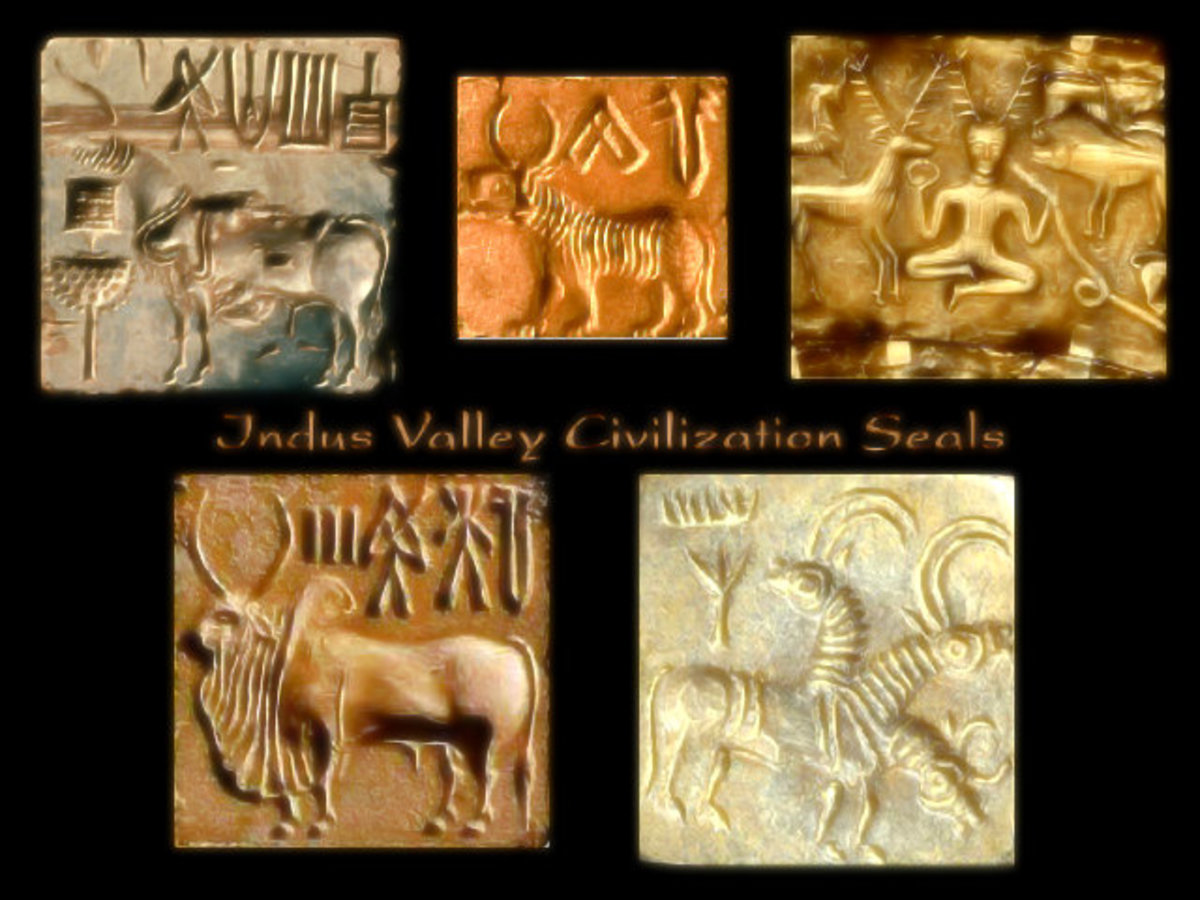 Indus Valley Civilization Seals