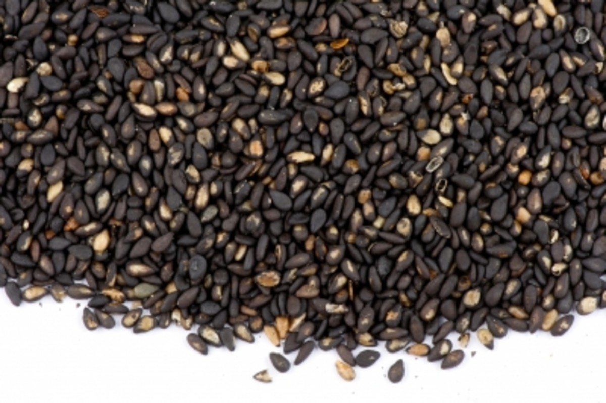The Benefits of Black Sesame Seeds - a little fountain of youth