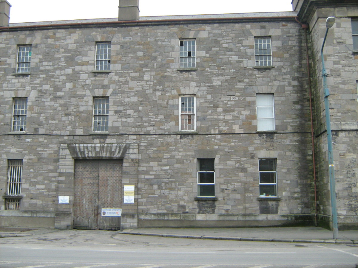 Irish women and children were transported to Australia from here as convicts