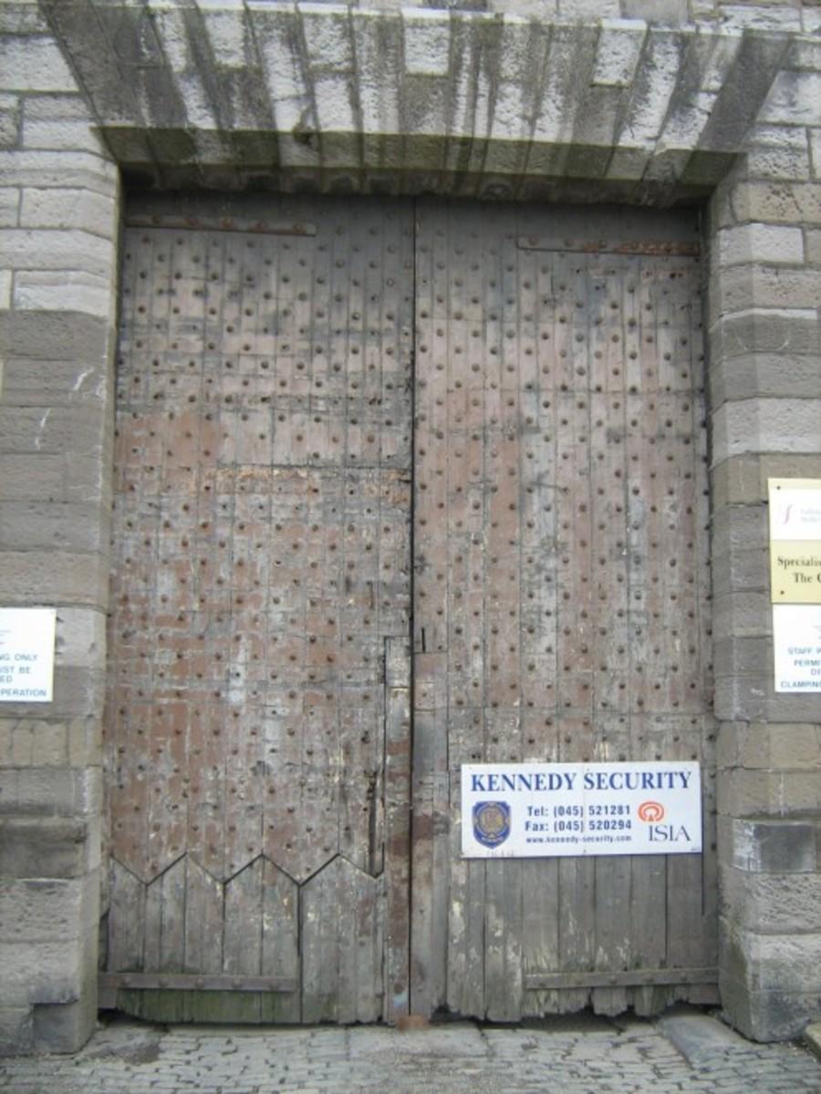 Grangegorman Prison Doors