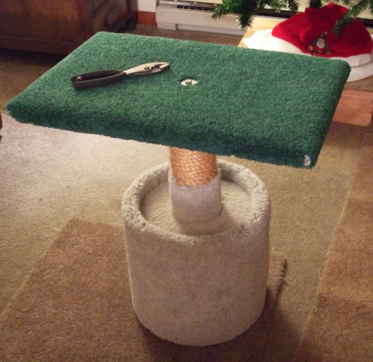 How to ENLARGE a Cat Tower Platform DIY Step by Step with Photos