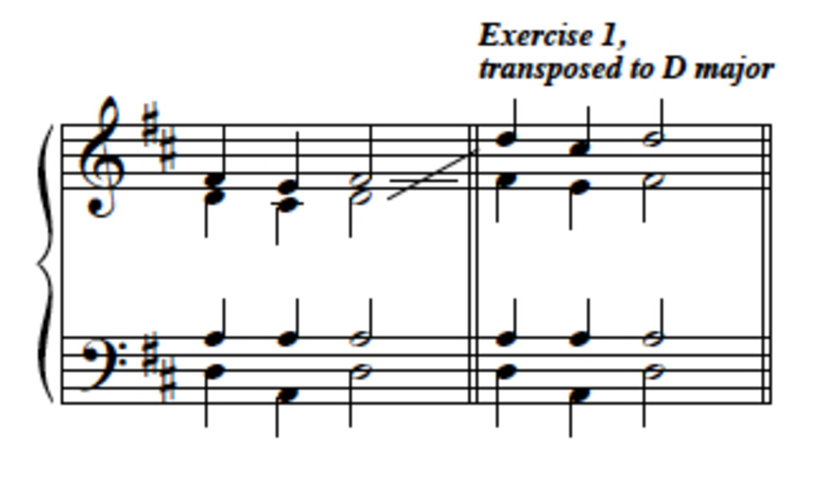 Example 9--voice exchange illustrated.