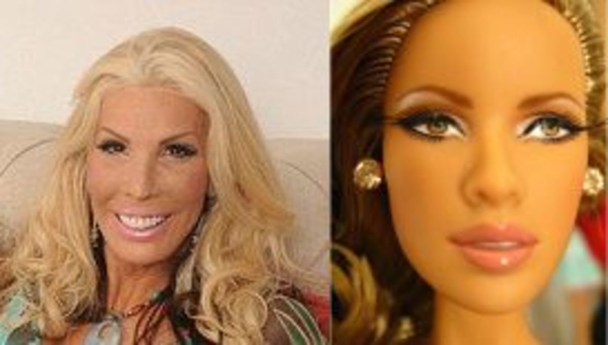 can you tell which one is Barbie?
