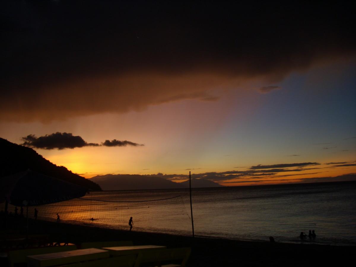 Sunset in Mindoro Oriental, Philippines