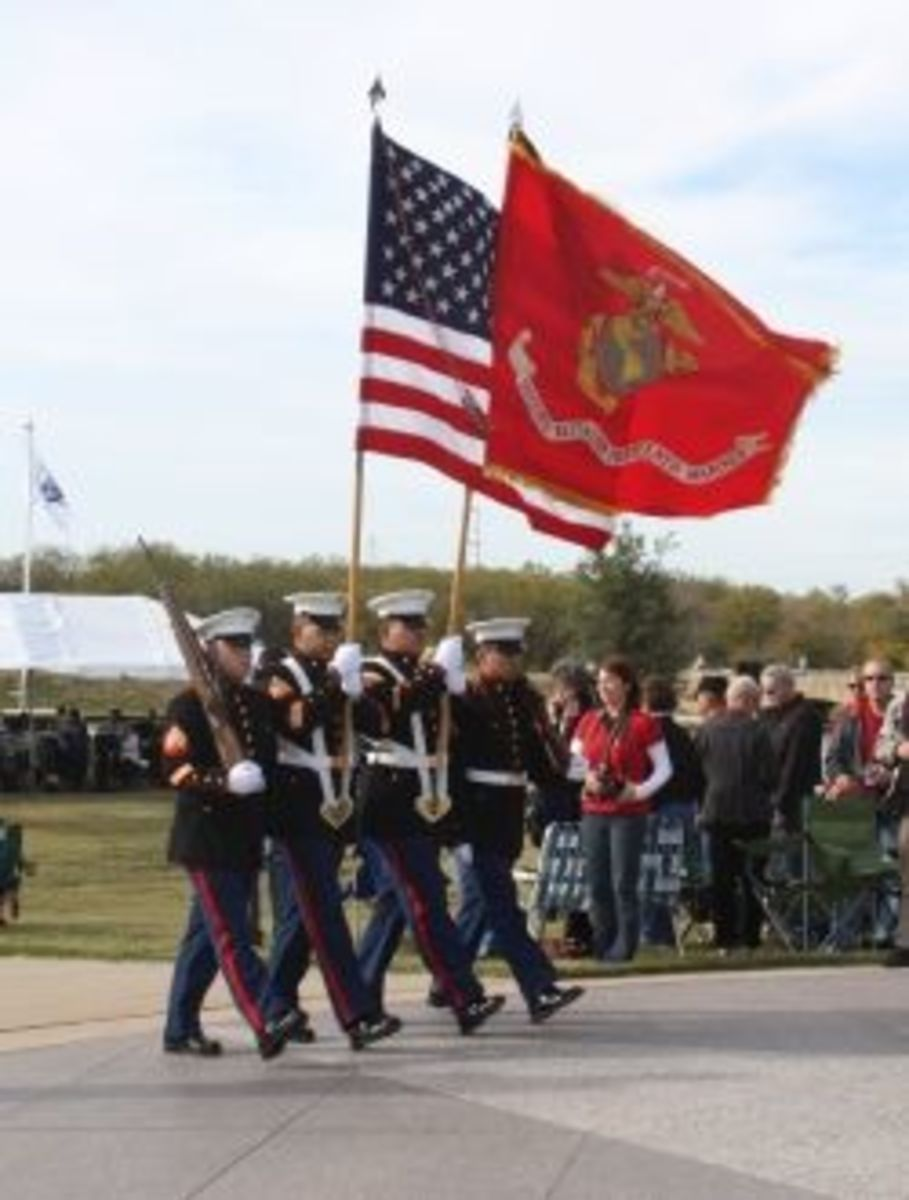 Veteran's Day 2011 at DFW National Cemetery