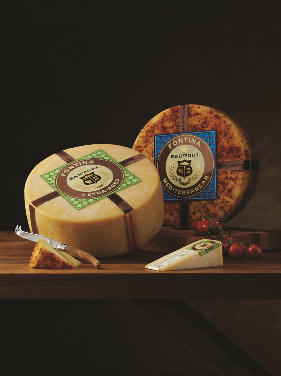 Fontina cheese is a semi-hard cheese made from the whole milk of cows in the Aosta Valley of northern Italy. It has a vibrant history beginning with the settlements in the valley, and the name Fontina has since been protected by Europe's DOP.