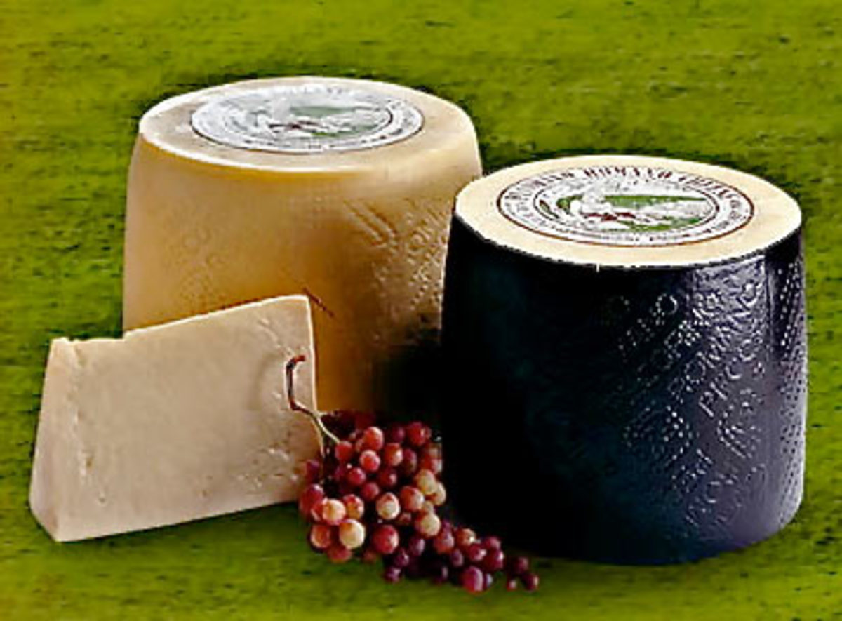 Pecorino Romano is a hard, salty Italian cheese, suitable primarily for grating, made out of sheep milk (the Italian word pecora, from which the name derives, means sheep).