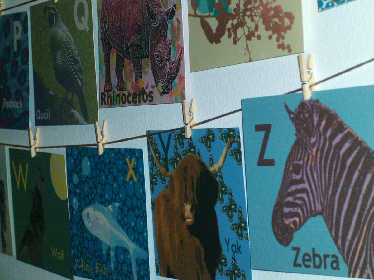 Full Set ACEO on Clothesline
