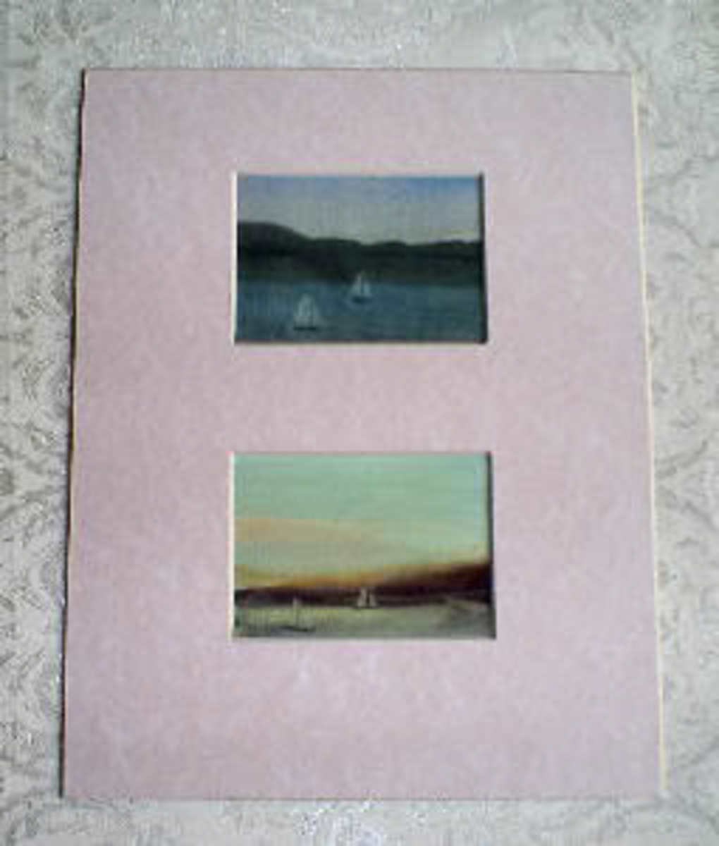Matted Art Cards