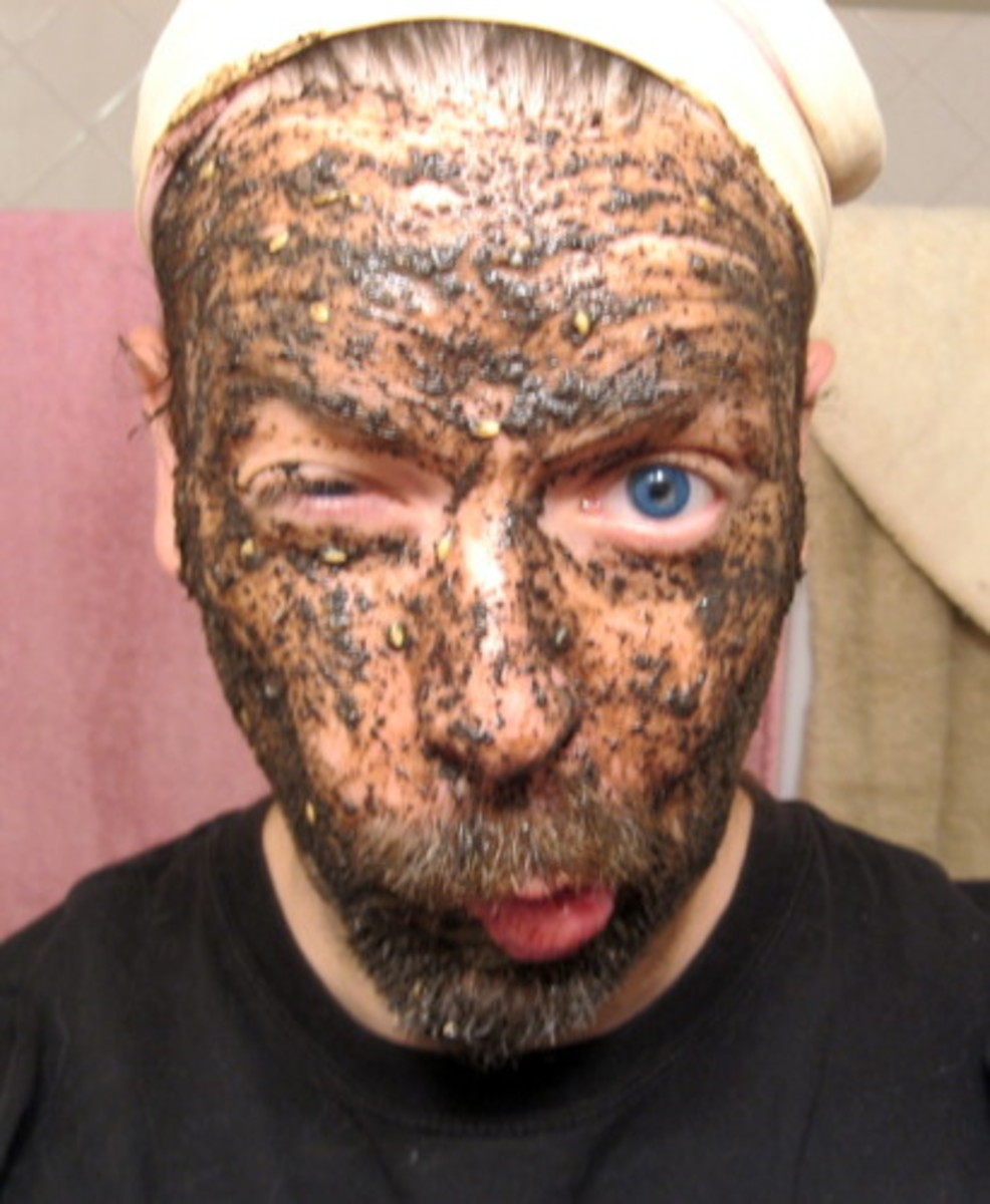 Coffee Grounds Exfoliating Facial Scrub