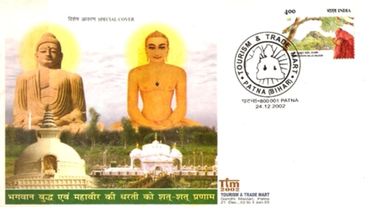 Famous Jains on Postal Stamps