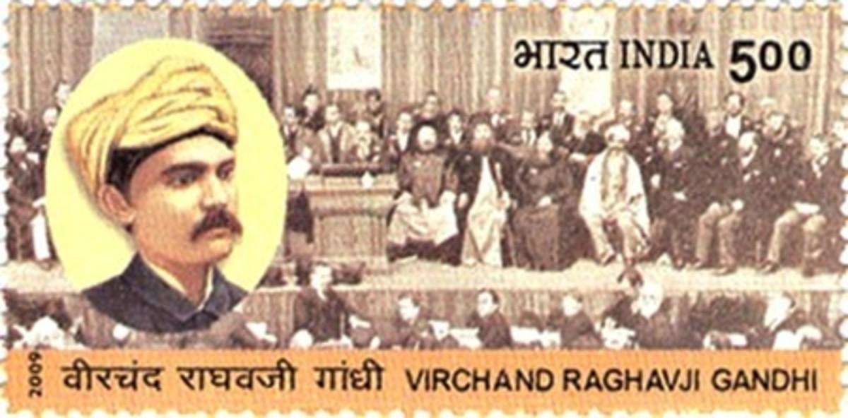 Veerchand Gandhi Stamp