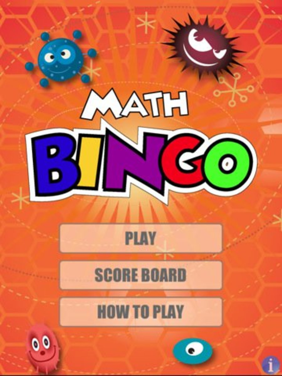 Learn math facts with Math Bingo on the iPad