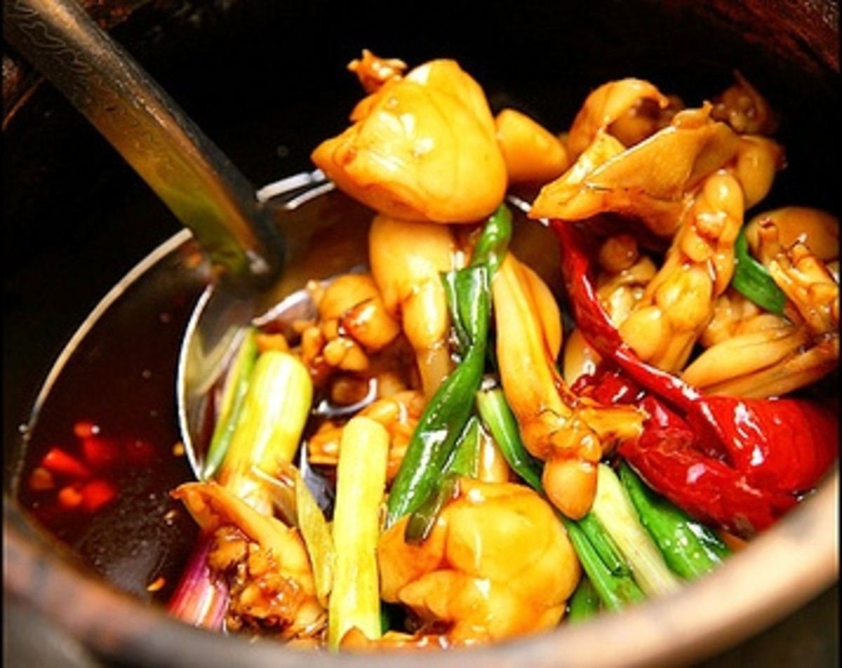 Frog Recipes - Savoury Delicate Meat Low in Cholesterol and High in Protein   Restaurants Serving Frog Legs Delicacy